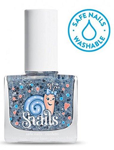 SNAILS Confetti Vernis à l'Eau Bleu 10,5 ml