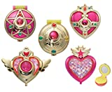 "Unbekannt Gashapon ""Sailor Moon""-Verwandlungs-Set, im Puderdosen-Design"