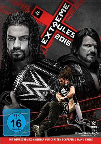 Extreme Rules 2016 - Dvd Wwe Extreme