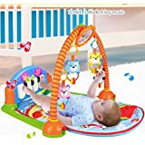 Magicwand Kick & Play Multi-function Piano Baby Gym & Fitness Rack ,100 % Safe & Non-Toxic (Extra-Large)