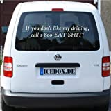 If you don't like my driving - Auto Tattoo, Sticker, Aufkleber, viele Farben (170-ultra)