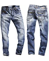 Timezone Herren Jeans 'Amos 26-5272-3430' Regular Fit light street