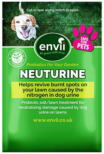 Envii Neuturine - Neutralizza e ripara le bruciature causate dall'urina dei cani in giardino - 12 Pastiglie