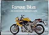 Famous Bikes - die schönsten Zweiradmodelle (Wandkalender 2017 DIN A3 quer): 13 detailgetreue Motorrad-Miniaturen ansprechend in Szene gesetzt (Monatskalender, 14 Seiten ) (CALVENDO Hobbys)