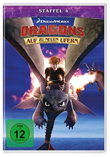 Dragons - Auf zu neuen Ufern, Staffel 4 [4 DVDs]
