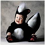 Déguisement de mouffette Tom Arma pour bébé - 6-12 mois