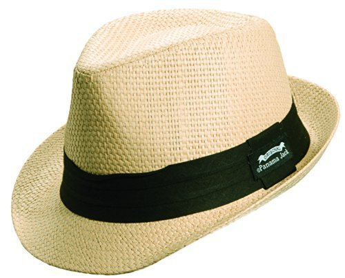 Panama Jack Men's Matte Toyo Fedora (L