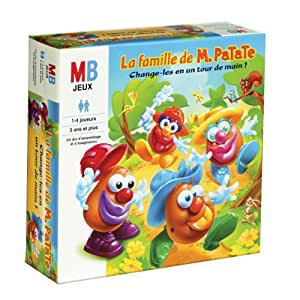 mb jeux jeu de soci t pour enfant famille de monsieur patate jeux et jouets. Black Bedroom Furniture Sets. Home Design Ideas