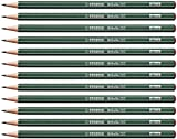 Crayon graphite - STABILO Othello - Lot de 12 crayons graphite 3B avec tête trempée