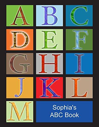 Personalisiertes ABC-Buch für Kinder, personalisierbar