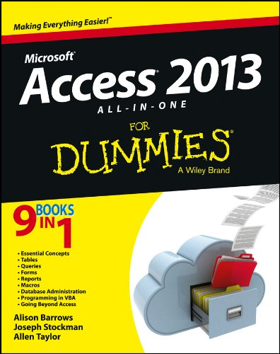 Access 2013 All-in-One For Dummies por Alison Barrows