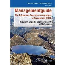 Managementguide für Schweizer Energieversorgungsunternehmen (EVU): Herausforderungen des Strommarktwandels richtig begegnen