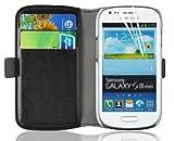 Samsung Galaxy S3 Mini, JAMMYLIZARD Luxuriöse Ledertasche