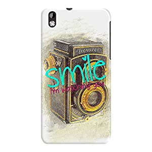 DailyObjects Smile With The Camera Case For HTC Desire 816