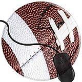 QCFW Tapis de Souris Football américain Football Universitaire Mousepad Tapis de Souris Gaming Base en Caoutchouc Antidérapante,Résistant à Usure 2T3394...