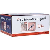 BD MicroFine 0.3ml Insulin Syringes U100 Demi
