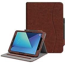 """Fintie Samsung Galaxy Tab S3 9.7 Funda, [Multi-Ángulo de Visualización] Slim Stand Case Plegable Smart Cover con Auto-Sueño / Estela para Samsung Galaxy Tab S3 9.7"""" Tablet, Vintage Brown"""