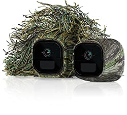 NETGEAR VMA4250 Arlo Go Replaceable Silicone Skins (Official), Mossy Oak Camouflage/Ghillie, Pack of 2