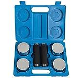 ScSPORTS Chrom Hantelset im Koffer blau 111C0002, 10000054 - 3