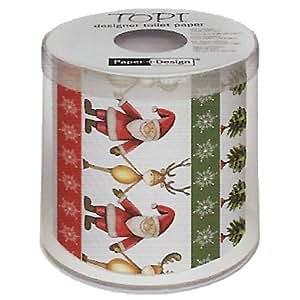 Christmas Toilet Paper - Festive Friends
