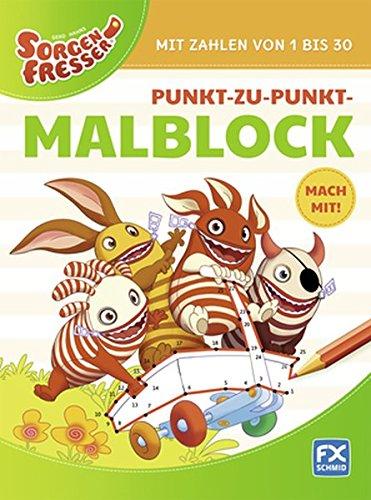 Gerd Hahns Sorgenfresser: Punkt-zu-Punkt-Malblock