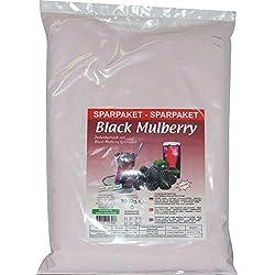 """1KG Türkisches Instantgetränk """"Black Mulberry"""" mit schwarze Maulbeere-Geschmack - Instant-Pulver Ottoman"""