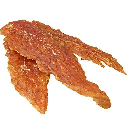 Antos Hühnerbrustfilets pur 400 g in ganzen Stücken (10-15 cm) sind knackig, fettarm und besonders gut bekömmlich