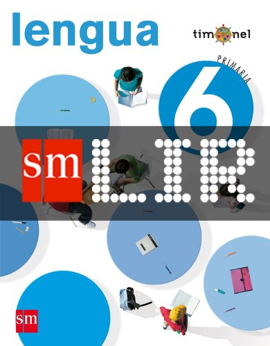Portada del libro LIR Alumno: Lengua. 6 Primaria. Proyecto Timonel