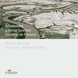 Tchaikovsky: 4 String Quartets (Nos. 1, 2, 3 & Souvenir De Florence)