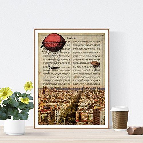 Un universo ilustrado para potenciar el estilo de tu hogar. Crea espacios únicos y personales con nuestras láminas basadas en HISTORIA. Poster de alta calidad impreso en papel de 250 gramos. Lámina perfectas para salones, dormitorios, estudios... El ...
