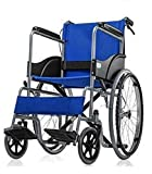 Fastwell Premium Folding Wheelchair With Seat Belt & Dual Break