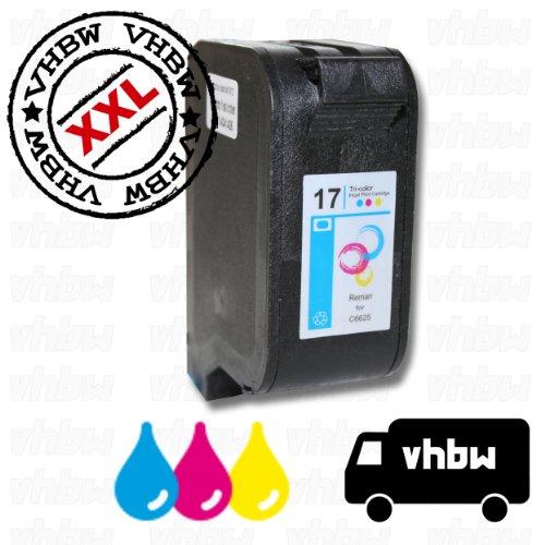 Preisvergleich Produktbild vhbw kompatible Ersatz Tintenpatrone Druckerpatrone bunt für Drucker wie HP 17, HP C6625AE