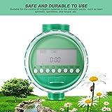 Peanutaso Pantalla LCD Temporizador de Agua electrónico Inteligente automático Diseño de Junta de Goma Válvula solenoide Controlador de riego por aspersión