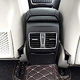 AUTO Pro - Bordo cromato per aria condizionata posteriore, per Mercedes Benz A, B, GLA, CLA, Classe C117, W117, W176, AMG, in plastica ABS, colore: argento opaco