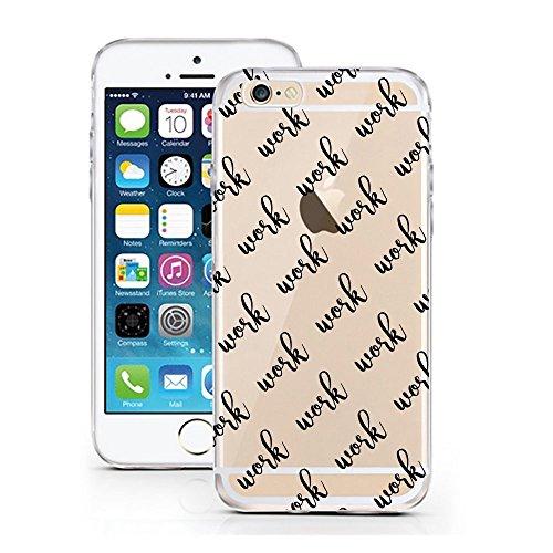 iPhone 5 5S SE Hülle von licaso® für das Apple iPhone 5 & 5S aus TPU Silikon Panda 3 Panda-Bär Bärchen süß Tiere Muster ultra-dünn schützt Dein iPhone SE & ist stylisch Case Design Schutzhülle Bumper  Work Work Work