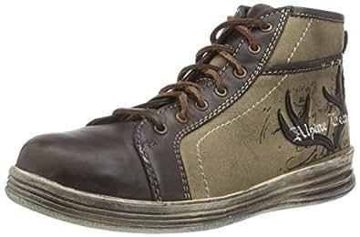 Stockerpoint Sneaker 1295, Baskets Hautes Hommes - Marron - Braun (Braun Vintage), 41 EU