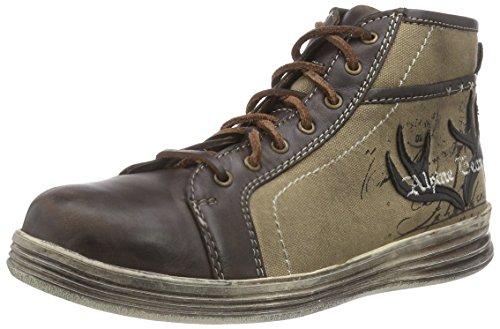 Stockerpoint Sneaker 1295, Herren Hohe Sneakers, Braun (Braun Vintage), 46 EU