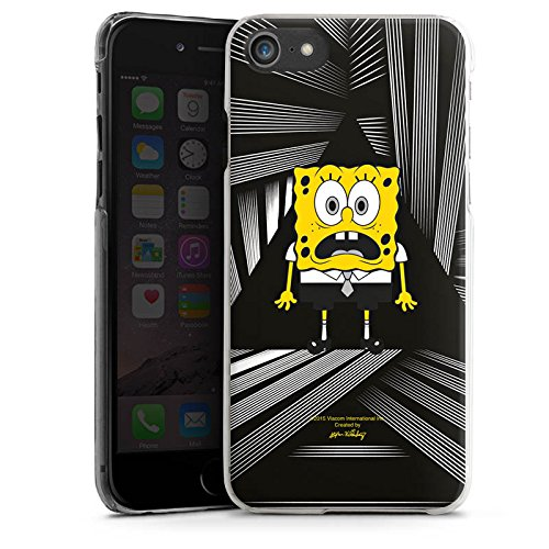 Apple iPhone X Silikon Hülle Case Schutzhülle Spongebob Fanartikel Merchandise Spongebob Schwammkopf Hard Case transparent