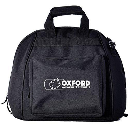 OXFORD Borsa Porta Casco Moto Lidstash Nero (Default, Nero)