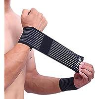 Snner - Fascia a Compressione, per Polso, per Proteggere dalle lesioni Sportive e sostenere l'articolazione