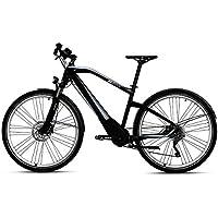 BMW Bicicleta eléctrica híbrida de aluminio para bicicleta eléctrica, color negro y ...