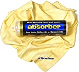 """The Absorber Synthetic Drying Chamois, 27"""" x 17"""", Natural"""
