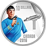 Power Coin SPOCK Star Trek Silber Münze 10$ Canada 2016