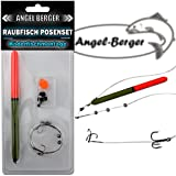 Angel Berger Raubfisch Posenset Köderfischset Köderfischmontage