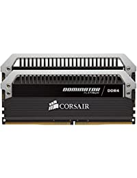 Corsair CMD32GX4M2A2666C15 Vengeance LPX 32GB (2x16GB) DDR4 2666Mhz  Mémoire pour Ordinateur de Bureau Haute Performance avec Profil XMP 2.0. Noir