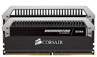 Corsair Dominator Platinum - Módulo de Memoria XMP 2.0 de Alto Rendimiento de 32 GB (2 x 16 GB, DDR4, 3000 MHz, C15) (B016BWENUI) | Amazon price tracker / tracking, Amazon price history charts, Amazon price watches, Amazon price drop alerts