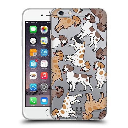 Head Case Designs Cocker Spaniel Modelle Hunde Rassen 7 Soft Gel Hülle für Apple iPhone 6 / 6s Brittanys