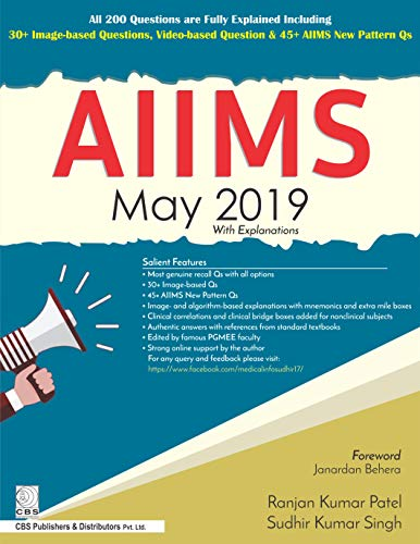 AIIMS May 2019 with Explanations 1st Edition