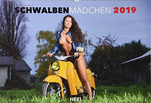 Schwalbenmädchen 2019: 12 Motive des Kultmotorrads der ehemaligen DDR erotisch in Szene gesetzt
