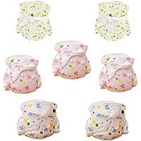 Happy Cherry® Baby assorbente traspirante pannolini biancheria intima di cotone per neonato